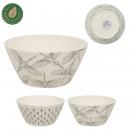 bamboo fiber salad bowl 3.5l, 2- times assorted
