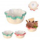 wafer ice cream dish, 2- times assorted
