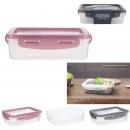 lunch box couvercle souple, 3-fois assorti