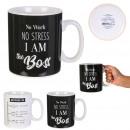 mug noir et blanc xxl 80cl, 2-fois assorti