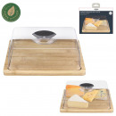 cheese board with cloche
