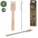 wholesale Cutlery:pine fork 16cm x20