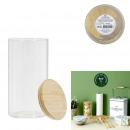üveg- és bambuszedény 1.2l