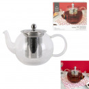 wholesale Household & Kitchen: 700ml stainless steel glass infuser teapot