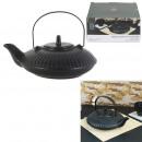 black ceramic chan teapot 60cl