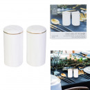 wholesale Household & Kitchen: salt and pepper set with golden border