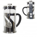cafetiere a piston metal gris 60cl