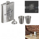 wholesale Kitchen Gadgets: whiskey flask with x2 shooter and funnel