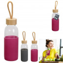 wholesale Lunchboxes & Water Bottles: 45cl silicone pouch transport bottle, 2-fold