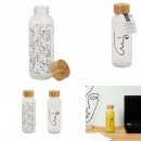 arty transport bottle 42cl, 2- times assorted