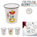 tasse expresso arty 7cl, 3-fois assorti
