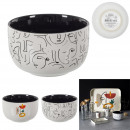 ceramic arty dish 12cm, 2- times assorted