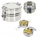 round lunch box 2 levels 140cl