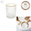 wholesale Household & Kitchen:18cl golden rimmed glass