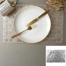 Großhandel Home & Living: Ginkgo Rechteck Tischset 45x30cm, 2-fach asso