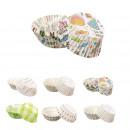 moldes de muffins de papel de 4.5cm x100, 6- veces