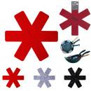 protege poele etoile anti rayures x2, 3-fois assor