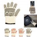 Heat resistant glove coton and silicone, 4-times a
