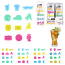 brand glass silicone, 4- times assorted