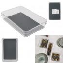 non-slip drawer storage 24x16.3x4.5cm