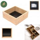 drewniana szuflada do przechowywania 15x15x7cm