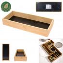 drewniana szuflada do przechowywania 38x15x7cm