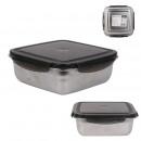 kwadratowe pudełko do przechowywania ze stali nier