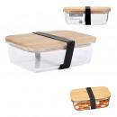 bamboo lid storage box 19.5cm