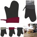 wholesale Gloves: heat resistant neoprene glove 26x17cm, 3-fold asso