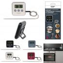 thermometre a sonde et minuteur, 4-fois assorti