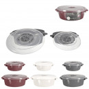 wholesale Microwave & Baking Oven: Cocotte microwave x2 1l 2l, 3- times assorted