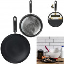 crepiere induction noire 26cm