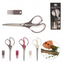 5 blades scissors with comb, 3-times assorted