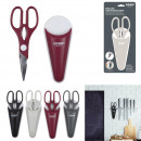 wholesale Magnets: multifunction scissors with Case loving, 4-times a