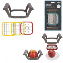 cut fries and apples 3 blades, 1-times assorted