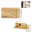 cut cheese and foie gras wood base, 1-time asso