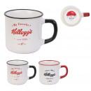 mug Vintage kelloggs 25cl, 2- times assorted