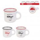 espresso cup Vintage kelloggs 8cl, 2-fold assorted