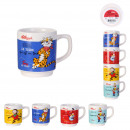 wholesale Household & Kitchen: kelloggs 12cl stackable mug, 4- times assorted