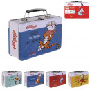 kelloggs snack metal box, 4- times assorted