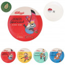 plate kelloggs bamboo fiber, 4- times assorted