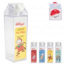 plastic bottle milk kelloggs 45cl, 4-f
