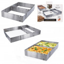 wholesale Microwave & Baking Oven: rectangle frame and removable spacer, 1-ass time