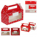 cookie tin paper christmas, 2- times assorted