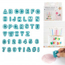 cookie cutter decor letters and numbers