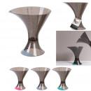 verre doseur design double, 3-fois assorti