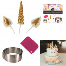 wholesale Casserole Dishes and Baking Molds: unicorn decoration pastry set