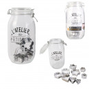 clamshell jar with punch x9