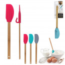 spatula with grip, 3- times assorted