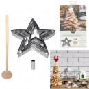 Großhandel Dekoration:Weihnachtsbaumstern Dessertbox